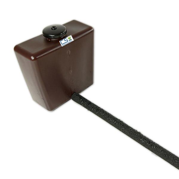 1m CS Perlschlauch drucklos mit Vorratsbehälter und Endstopfen