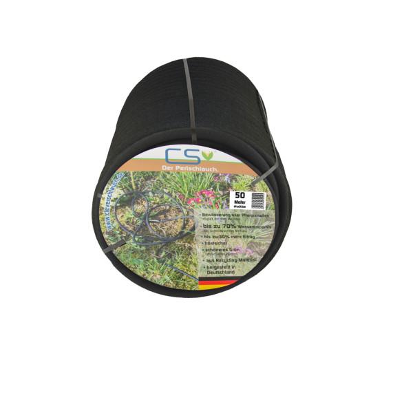 20m Perlschlauch Drucklos mit Tankdurchf/ührung Wasserfilter,Schnellschlauchst/ück und Endstopfen