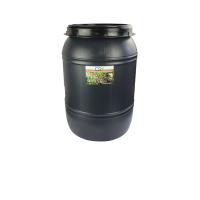 CS Drehdeckelfass 60 Liter grau für die drucklose...