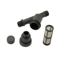 CS Wasserfilter 75 micron mit Druckminderer 1.0 bar